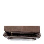Gear 03 Messenger bag,  brown, escada