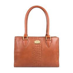Treccia 01 Women's Handbag, Soho,  tan