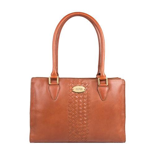 Treccia 01 Women s Handbag, Soho,  tan
