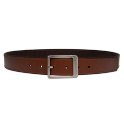 Isaac Men's Belt, Marrakah Small Weave Soho, 34-36,  brown