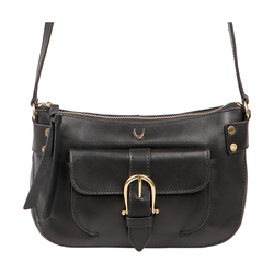 AL CAPONE 01 WOMEN'S HANDBAG SOHO,  black