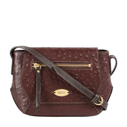 Taurus 03 Sb Women's Handbag Ostrich,  brown