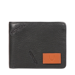366-017 RF MENS WALLET COW BOY,  black