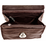 Oxfordstreet 01 Women s Handbag, Baby Croco,  brown