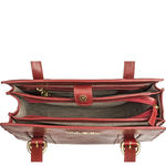 Ersa 03 Handbag, ranchero,  dark red