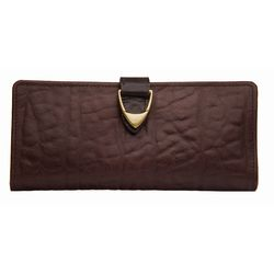 Yangtze W1 Women's Wallet, elephant,  brown