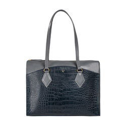 Kasai 01 Sb Women's Handbag, Croco,  midnight blue