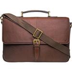 Merlin 01 Briefcase,  brown, siberia