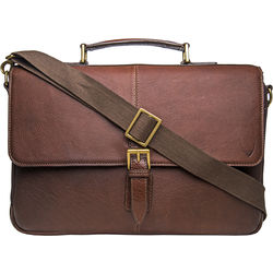 Merlin 01 Briefcase, siberia,  brown