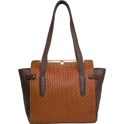 Selene 02 Handbag, woven,  tan