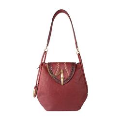 Swala 02 Women's Handbag, Kalahari Mel Ranch,  marsala