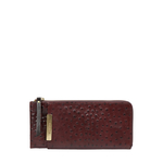 Maple W1 Sb (Rfid) Women s Wallet Ostrich Embossed Melbourne Ranch,  brown