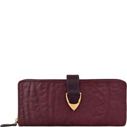 Yangtze W2 (Rfid) Women's Wallet, Elepant Ranch,  aubergine