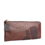 Rose W3 Women s wallet, Rose Emboss Mel Ranch,  brown