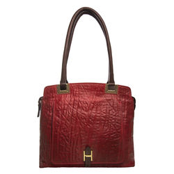 Amore 01 Handbag, elephant,  dark red