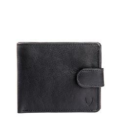 38 Men's Wallet, Roma,  black