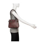 Shanghai 03 Sb Women s Handbag Ostrich,  brown