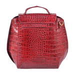 Hidesign X Kalki Alive 03 Women s Sling bag, Croco Melbourne Ranch,  red
