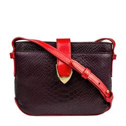 Sb Aurora 03 Ge Women's Handbag Snake,  aubergine