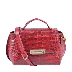 Hidesign X Kalki Alive 01 Women's Handbag Croco,  red