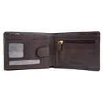 L103 Men s Wallet, Roma,  brown
