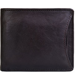 21036 Men's wallet, ranchero,  black