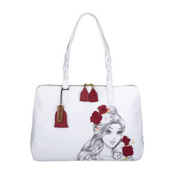 Belle 02 Handbag,  white