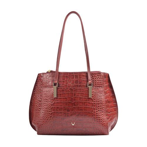 Hidesign X Kalki Alive 02 Women s Handbag Croco,  red