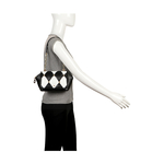 FLAPPER GIRL 01 WOMEN S HANDBAG LAMB,  black