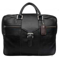 Golf 02 Briefcase, regular,  black