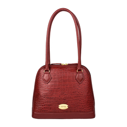 Ee Cleo 01 Handbag,  red, croco