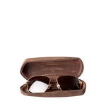 SNORKEL-GOLD sunglasses,   brown
