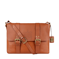 DORANGO 01 MESSENGER BAG DENVER,  tan