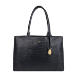 BERLIN 01 SB WOMEN S HANDBAG CROCO,  black
