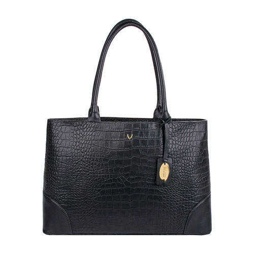 Berlin 01 Sb Women s Handbag, Croco Melbourne Ranch,  black