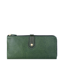 Hong Kong W3 Sb Women's Wallet,  emerald