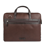 Travolta 02 Men s Laptop Bag, New Siberia Regular Split,  brown