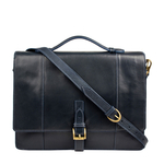Maverick 02 Briefcase,  navy blue, ranch