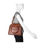 Croco 01 Women s Handbag, Croco Melbourne Ranch,  tan