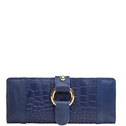 Nakasu W2 (Rfid) Women's Wallet, Croco Melbourne,  blue