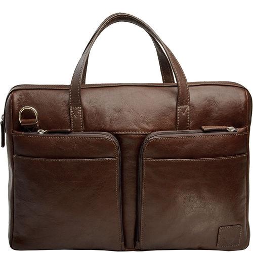 Slider 01 Briefcase, regular,  brown