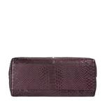 Virgo 01 Sb Women s Handbag Snake,  aubergine
