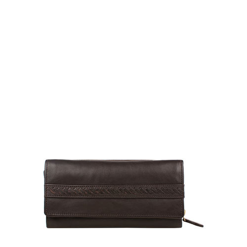 Mina W3 Women s wallet, Roma Melbourne Ranch,  brown