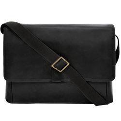 Aiden 01 Messenger bag, regular,  black