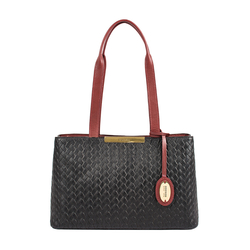 Leo 01 Sb Women's Handbag Woven Melbourne Ranch,  marsala