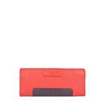 Sb Olivia W1 (Rfid) Women s Wallet, Pebble Snake,  red