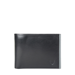 265-L109F (Rf) Men's wallet,  black