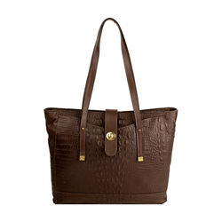 Sb Atria 01 Women's Handbag, Croco Ranchero Brown Tan,  brown