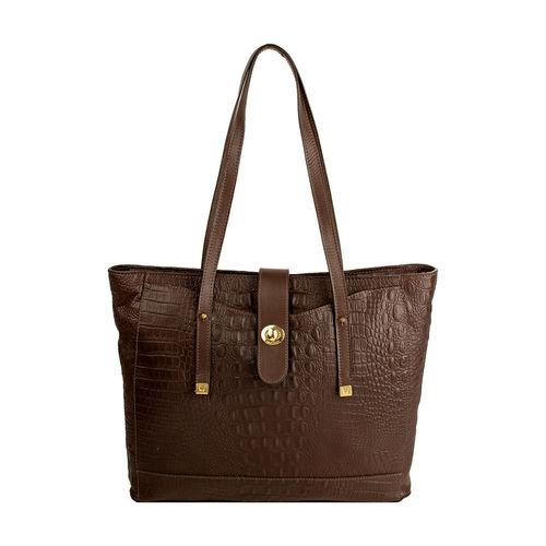 Sb Atria 01 Women s Handbag, Croco Ranchero Brown Tan,  brown