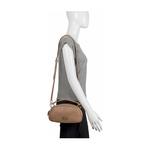 Hidesign X Kalki Infinite 02 Women s Handbag Baby Croco,  nude